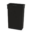 Value Plus 23 Gallon Slim Black Container 4 Per Case