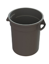 Value Plus GC100103 Container 10 Gallon Gray Plastic Value Plus 1-6 Count