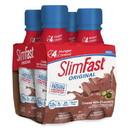 Slimfast Ready To Drink Original Creamy Milk Chocolate Shake 11 Ounce Per Bottle - 4 Per Pack - 3 Per Case