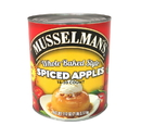 Musselman'S 'Clean Label' Whole Baked Style Spiced Apples 112 Ounce Cans - 3 Per Case