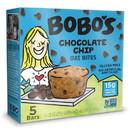 Bobo'S Oat Bars 120-D Bobo's Oat Bars Gluten Free Vegan Chocolate Chip Bites 1.3 ounce Bite 5 Per Pack - 6 Per Case
