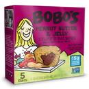 Bobo'S Oat Bars 122-D Bobo's Oat Bars Gluten Free Vegan Peanut Butter & Jelly Bites 1.3 ounce Bite 5 Per Pack - 6 Per Case