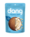 Dang Foods Lightly Salted & Unsweetened Coconut Chips 3.2 Ounce Bag - 12 Per Case