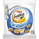 Pepperidge Farm Goldfish Honey Bun Whole Grain Grahams 1 Ounce Bag - 300 Per Case