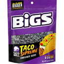 Bigs 1601201340 Bigs Taco Supreme Sunflower Seeds