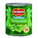 Del Monte Cut Blue Lake Green Bean #10 Can - 6 Per Case