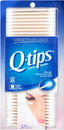 Q-Tips Cotton Swab 375 Count 12 375 Pc