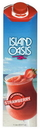 Island Oasis Aseptic Strawberry Frozen Drink And Smoothie Mix 1 Liter Carton - 12 Per Case
