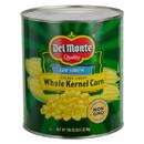 Golden Sweet Whole Kernel Corn Low Sodium Delmonte 6/101Oz Cans