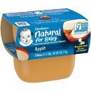 Gerber 1St Foods Apple Multi Pack Baby Food 4 Ounce Tubs - 4 Per Pack - 2 Packs Per Case