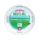 Ajm Green Label 7 Inch Paper Plate 100 Per Pack - 2 Per Case