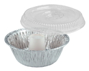 D & W Fine Pack 8 Inch Angel Food Pan And Dome Lid 100 Per Pack - 1 Per Case