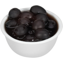 Pearls Reduced Sodium Large Pitted Olives 6 Ounce - 12 Per Case