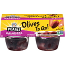 Pearls Olives To Go Kalamata Pitted Olives Cup 5.6 Ounce - 6 Per Case