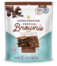 Crunchmaster Protein Brownie Thins Milk Chocolate