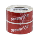 Secure It Red Permanent Labels