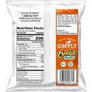 Cheetos 28400058193 Cheetos Simply White Cheddar Puffs Cheese Flavored Snacks 1.25 Ounce Plastic Bag/64