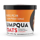 Umpqua Oats Super Premium Maple Pecan Oatmeal 2.57 Ounce Cup - 8 Per Case