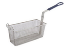 Winco Blue Handle Fry Basket 1 Per Pack