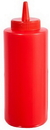 Winco PSB-12R Squeeze Bottle Red 1-6 Each
