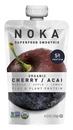 Noka Cherry Acai Superfruit Smoothie 4.22 Ounce Bottle - 6 Per Box - 2 Per Case