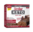 Slimfast 87455 Slimfast Keto Meal Replacement Bar Whipped Triple Chocolate 4 5Pk