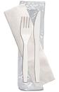 D & W Fine Pack P2502PCKIT Senate Fork Knife Napkin