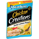 Starkist Chicken Creations Lemon Pepper 2.6 Ounce Pouch - 12 Per Case
