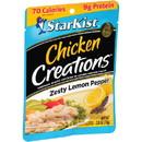 Starkist Chicken Creations Lemon Pepper 2.6 Ounce Pouch - 12 Per Case