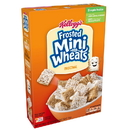 Kellogg'S Mini Wheats Bite Size Frosted Cereal 18 Ounces Per Box - 16 Per Case
