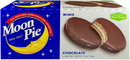 Moonpie Chocolate Mini Single Decker Pies 12 Count - 8 Per Case