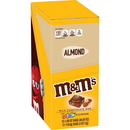 M&M'S Milk Chocolate Bars With Mini M&M'S And Almonds 3.9 Ounces Per Pack - 12 Per Case