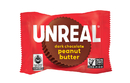 Unreal Candy 207 Dark Chocolate Peanut Butter Cup Bags 6-4.2 Ounce