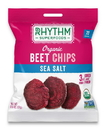 Rhythm Superfoods 125 0.6 Oz Organic Sea Salt Beet Chips Case Of 8