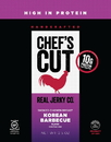Chef's Cut Real Jerky 7713 Smoked Chicken Breast Korean Style 8-2.5 Ounce
