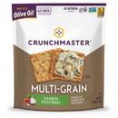 Crunchmaster Multi-Grain Crackers Roasted Vegetable Case 12 4Oz Bags