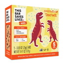 This Bar Saves Lives KID0300040 Chocolate Chip Dinosaurs Mite 8-5-.88 ounce