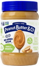 Peanut Butter & Co. All Natural Simply Smooth Peanut Butter Spread 16 Ounce Jar - 6 Per Case