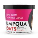 Umpqua Oats Super Premium Triple Berry Oatmeal 2.6 Ounce Cup - 8 Per Case