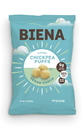 Biena Snacks Chickpea Puffs Baked Vegan Ranch 3.2 Ounce Bag - 12 Per Case