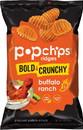 Popchips Buffalo Ranch Ridges 12-5 Ounce