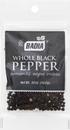 Badia 80025 Pepper Whole Black 48-12-.5 Ounce