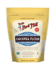 Bob'S Red Mill Chickpea Flour One Case Of Four 16 Oz. Resealable Pouches.