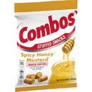 Combos Spicy Honey Mustard Medium Peg Pack 6.3 Ounce 12 Per Case