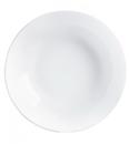 Luminarc N9411 Evolution White Rimless Soup Plate 1-2 Dozen