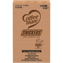 Nestle 00050000614257U Coffee-Mate Snickers Single Serve Liquid Creamer .375 Ounce Per Cup - 50 Per Pack - 4 Per Case