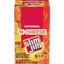 Slim Jim Original Beef Snack Stick 'N Cheese 1.5 Oz. Snack 14-Count (Pack Of 6)