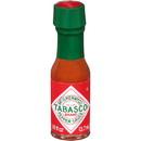 Tabasco 00007 Tabasco Miniature Pepper Sauce .125 ounces Per Bottle - 500 Per Case
