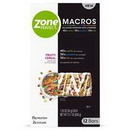 Zoneperfect 67510 Zoneperfect Macros Fruity Cereal 50 Gram Bar 3-12 Packs