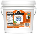 Once Again Nut Butter AL3449 Natural Almond Butter Smooth 1-9 Pound